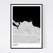 Load image into Gallery viewer, Map of Dunbar, Scotland