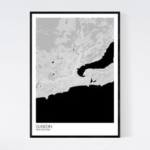 Load image into Gallery viewer, Dunedin City Map Print