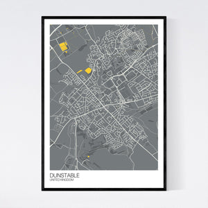 Map of Dunstable, United Kingdom