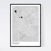 Load image into Gallery viewer, Dunstable City Map Print
