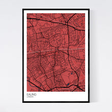 Load image into Gallery viewer, Ealing Neighbourhood Map Print