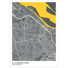 Load image into Gallery viewer, Map of Ellesmere Port, United Kingdom