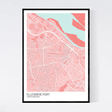 Load image into Gallery viewer, Ellesmere Port City Map Print