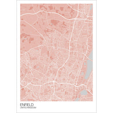 Load image into Gallery viewer, Map of Enfield, United Kingdom