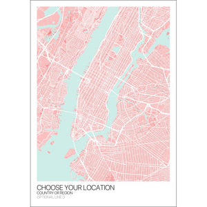 Map of Your Custom Location,