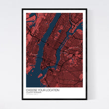 Load image into Gallery viewer, Your Custom Location: Custom Map Print
