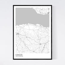 Load image into Gallery viewer, Exmoor Region Map Print