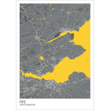 Load image into Gallery viewer, Map of Fife, United Kingdom