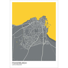 Load image into Gallery viewer, Map of Fraserburgh, United Kingdom