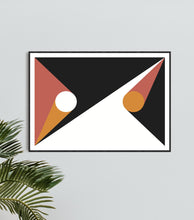 Load image into Gallery viewer, Geometric Print 198 by Gary Andrew Clarke