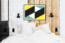 Load image into Gallery viewer, Geometric Print 303 by Gary Andrew Clarke