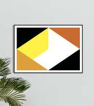 Load image into Gallery viewer, Geometric Print 312 by Gary Andrew Clarke