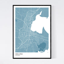 Load image into Gallery viewer, Geelong City Map Print