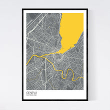 Load image into Gallery viewer, Map of Geneva, Switzerland