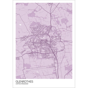 Map of Glenrothes, United Kingdom