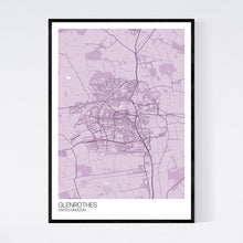 Load image into Gallery viewer, Map of Glenrothes, United Kingdom