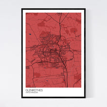 Load image into Gallery viewer, Glenrothes City Map Print