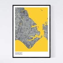 Load image into Gallery viewer, Gosport City Map Print