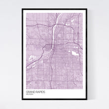 Load image into Gallery viewer, Map of Grand Rapids, Michigan