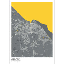 Load image into Gallery viewer, Map of Grimsby, United Kingdom