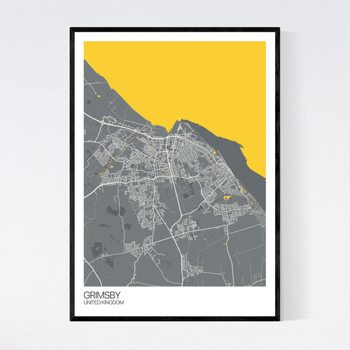 Map of Grimsby, United Kingdom