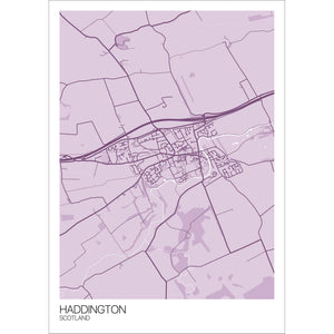 Map of Haddington, Scotland