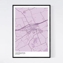 Load image into Gallery viewer, Map of Haddington, Scotland