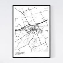 Load image into Gallery viewer, Haddington Town Map Print