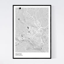 Load image into Gallery viewer, Halifax City Map Print
