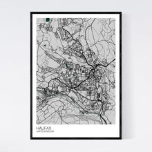 Load image into Gallery viewer, Map of Halifax, United Kingdom
