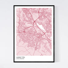 Load image into Gallery viewer, Map of Hamilton, United Kingdom