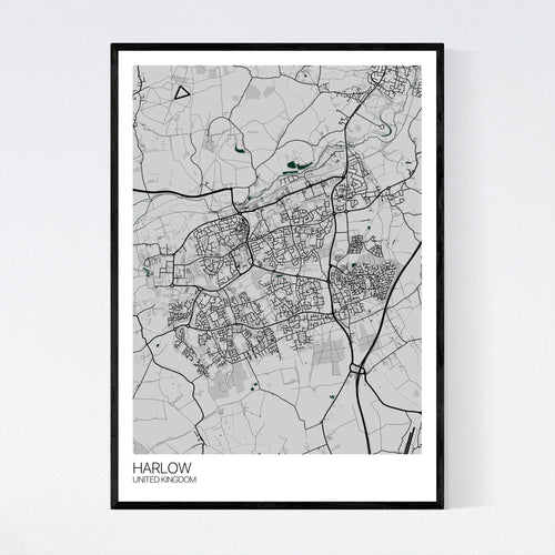 Map of Harlow, United Kingdom
