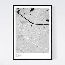 Load image into Gallery viewer, Map of Hasselt, Belgium