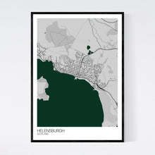 Load image into Gallery viewer, Helensburgh Town Map Print