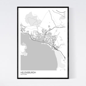 Map of Helensburgh, Scotland