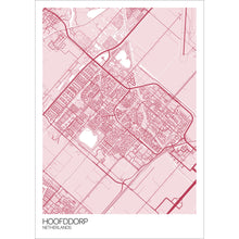 Load image into Gallery viewer, Map of Hoofddorp, Netherlands