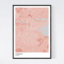 Load image into Gallery viewer, Horsens City Map Print