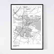 Load image into Gallery viewer, Map of Horsens, Denmark