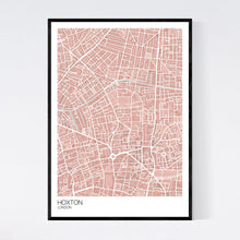Load image into Gallery viewer, Map of Hoxton, London