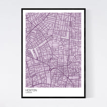 Load image into Gallery viewer, Hoxton Neighbourhood Map Print