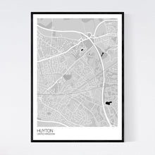 Load image into Gallery viewer, Huyton City Map Print
