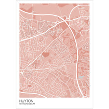 Load image into Gallery viewer, Map of Huyton, United Kingdom