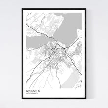 Load image into Gallery viewer, Inverness City Map Print