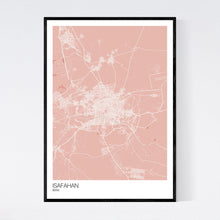 Load image into Gallery viewer, Isafahan City Map Print