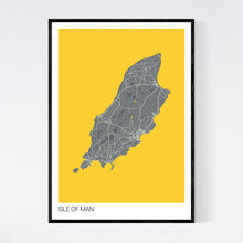 Load image into Gallery viewer, Isle of Man Island Map Print
