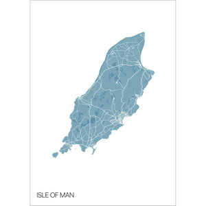 Map of Isle of Man,