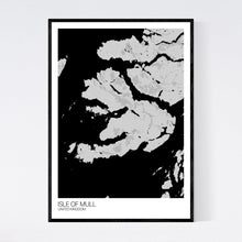 Load image into Gallery viewer, Isle of Mull Island Map Print