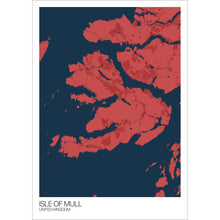 Load image into Gallery viewer, Map of Isle of Mull, United Kingdom