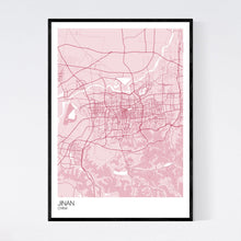 Load image into Gallery viewer, Jinan City Map Print