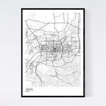 Load image into Gallery viewer, Map of Jinan, China
